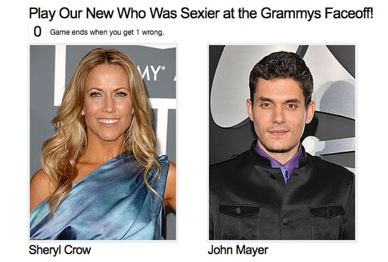 Play Our New Who Was Sexier at the Grammys Faceoff!