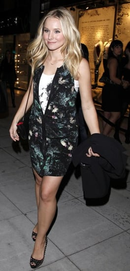 Actress Kristen Bell in Beverly Hills in Vena Cava Dress