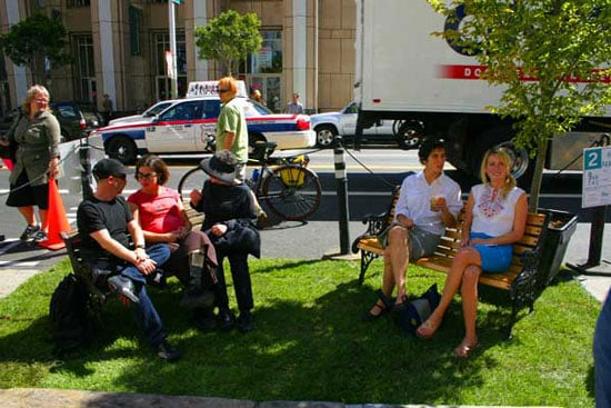 Midday Muse: Park(ing) Day