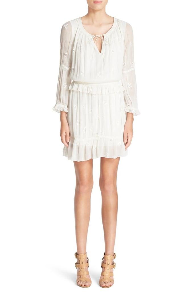 DVF 'Edlyn' Eyelet Dress ($398)