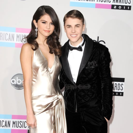 Justin Bieber & Selena Gomez American Music Awards Pictures