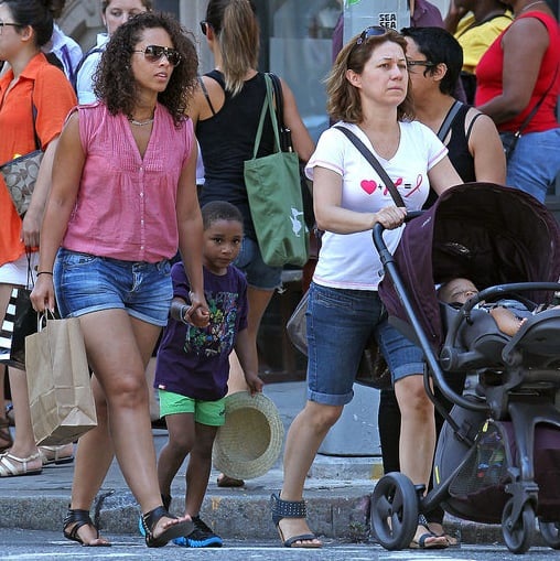 Alicia Keys Pictures With Son Egpyt Dean