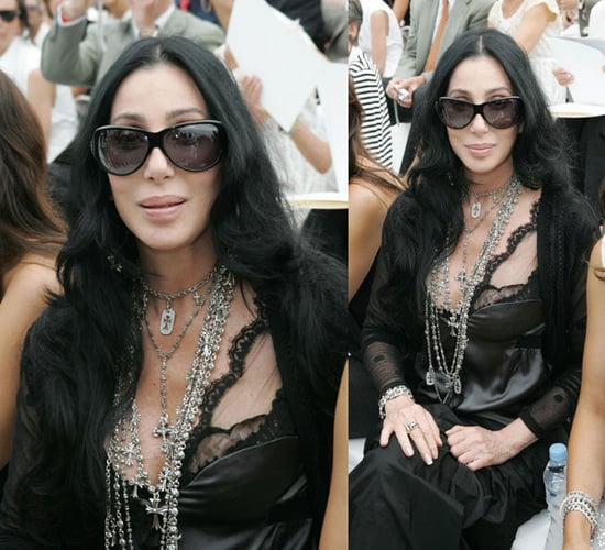 Cher at Chanel