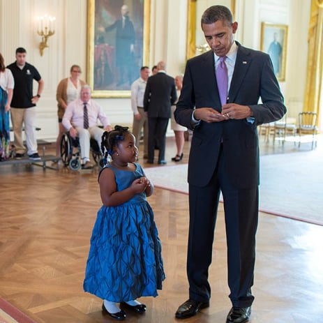 Child Asks President For School Absence Note