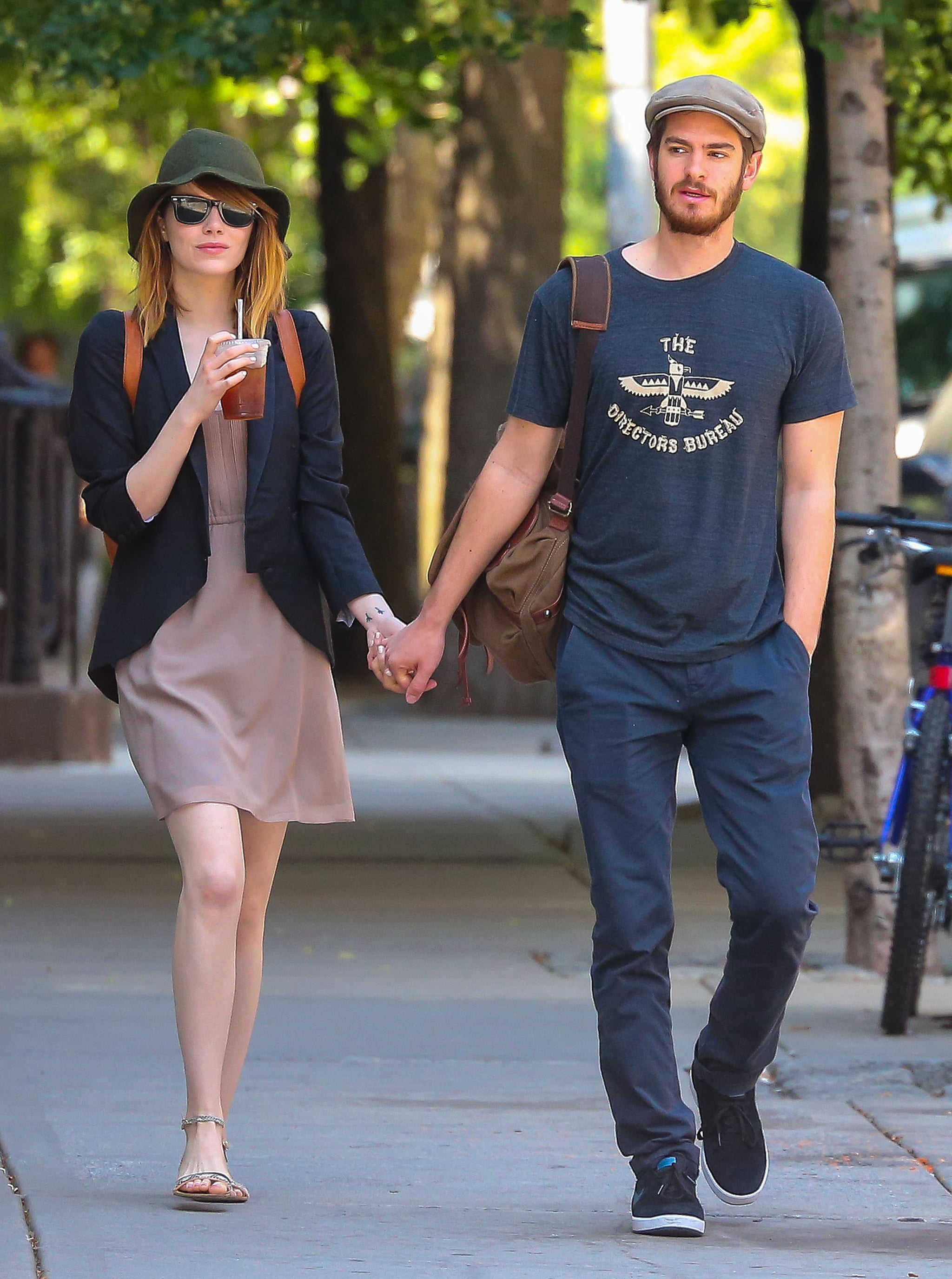 Emma Stone and Andrew Garfield Give Us Some Movie-Worthy PDA
