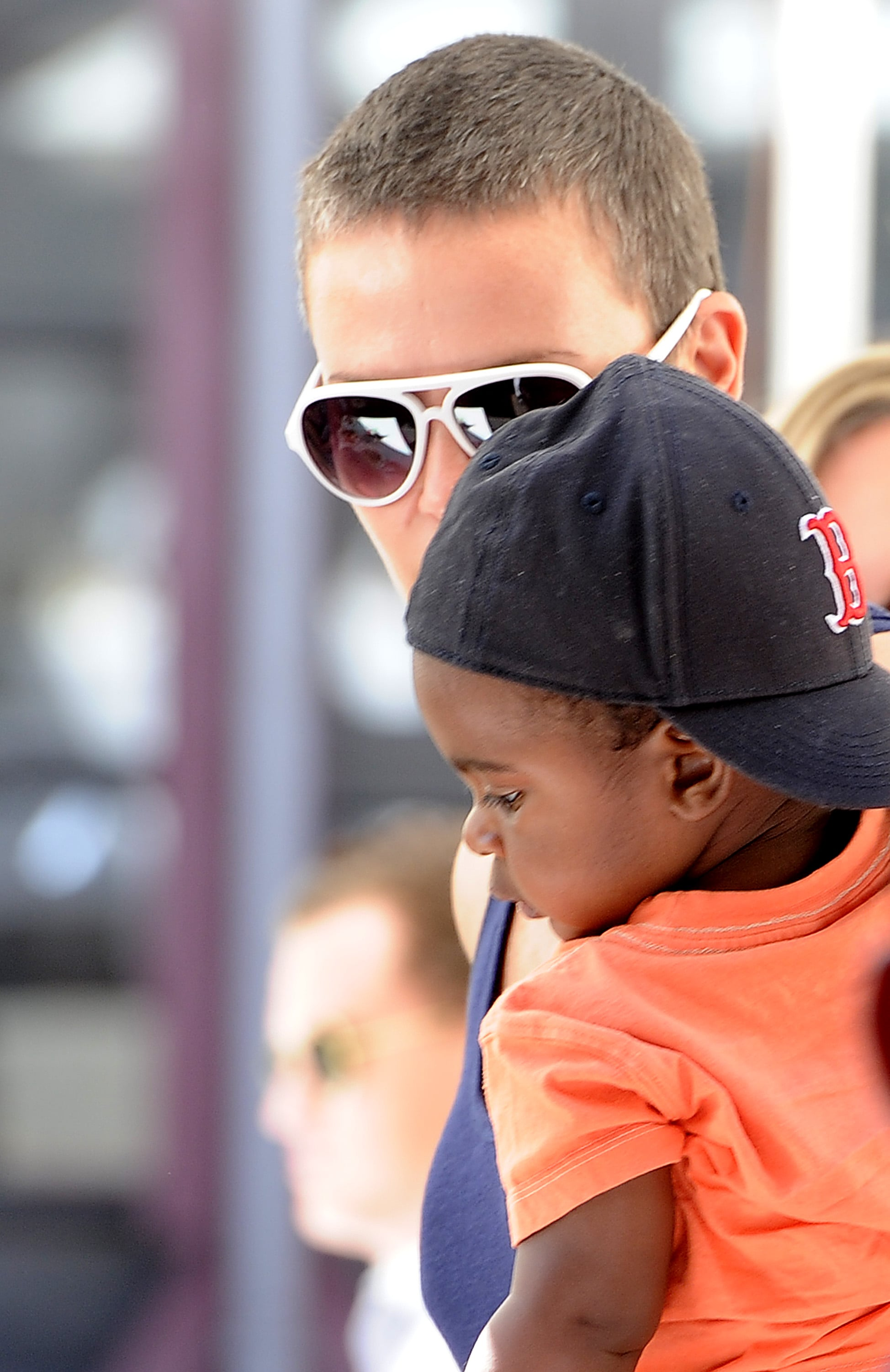 Charlize Theron Lunches With Little Jackson and Her Mom