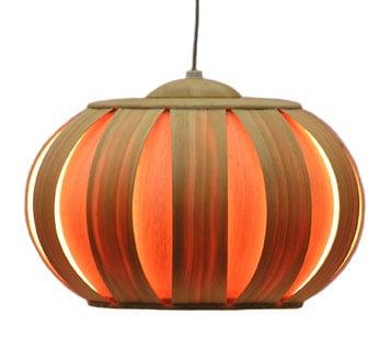 Autumn Decor: Pumpkin Look Alike Lamp