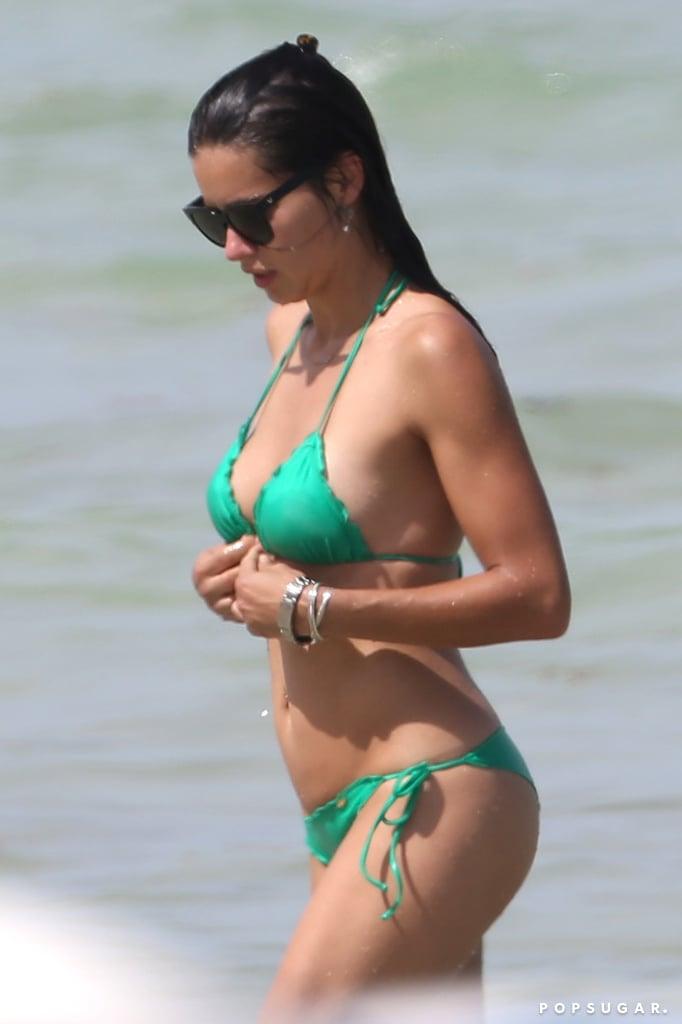 Adriana Lima Proves Her Bikini Body Is Still Off the Charts