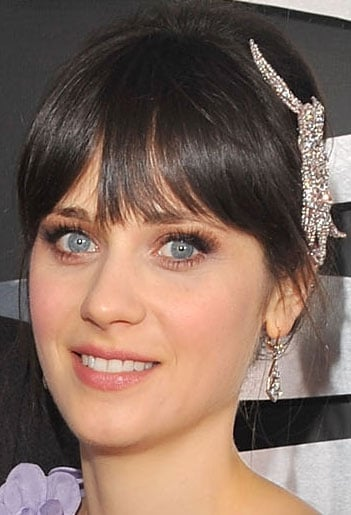 Zooey Deschanel at 2009 Grammys