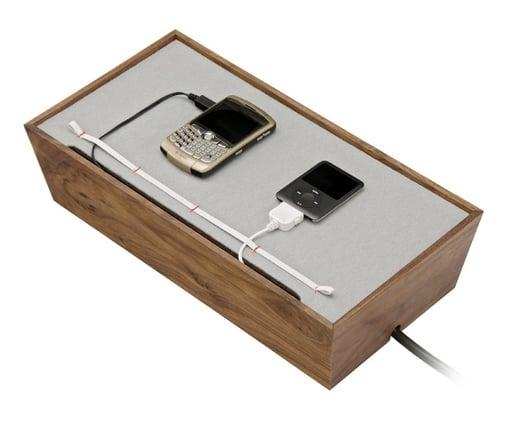 Blu Dot Juice Box Digital Dock Is a Stylish Charging Station at Design Public