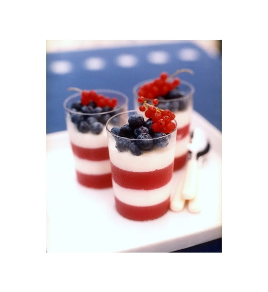 Red, White, and Blue Parfaits