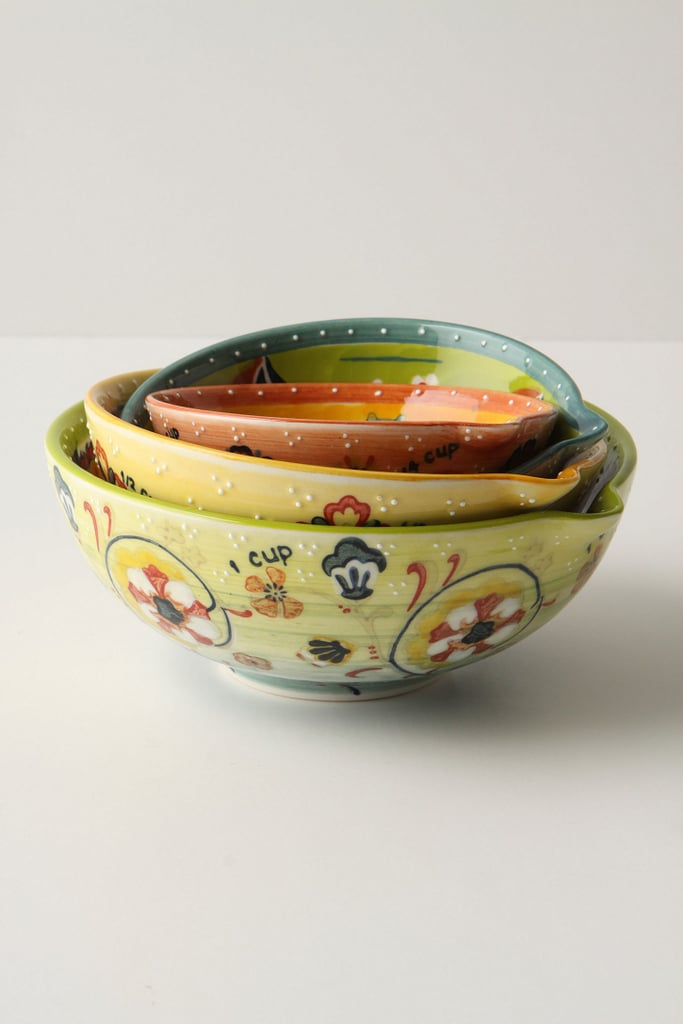 Hand-Painted Measuring Cups