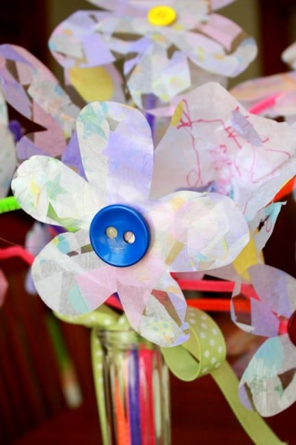 Tissue Paper Flowers