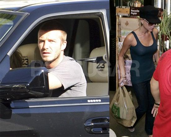 The Beckhams Cruise Beverly Hills