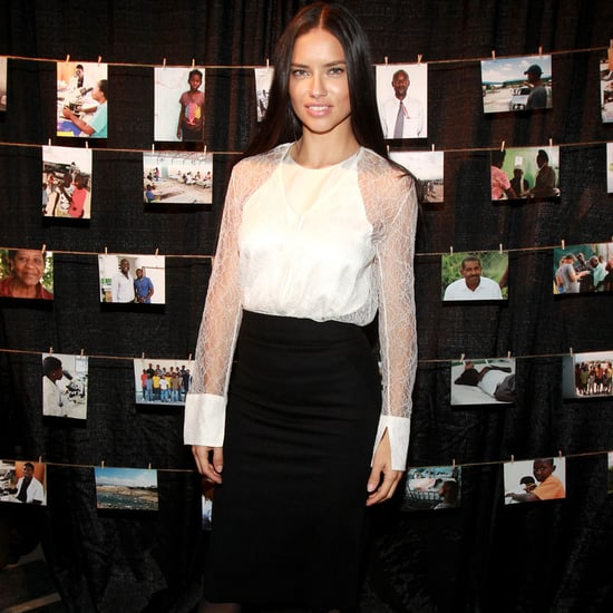 Adriana Lima Wears Chic Work-Appropriate Outfit