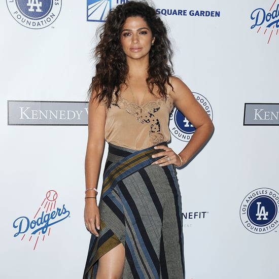 Camila Alves's Wrap Skirt July 2016