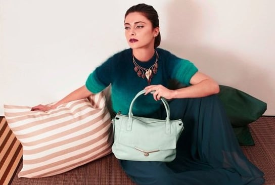 Pair a pastel green Botkier bag with all your Spring wardrobe essentials. Source: Fashion Gone Rogue