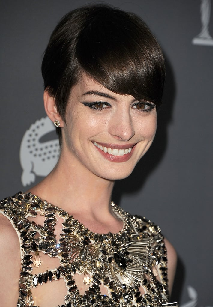Anne Hathaway Gets Honored by Costume Designers Ahead of the Oscars