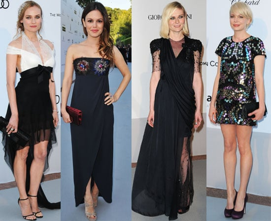 Pictures of Kate Beckinsale, Emily Blunt, Rachel Bilson, Michelle Williams, Diane Kruger etc at The 2010 AmfAR Benefit at Cannes
