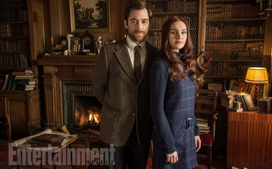 FROM EW: Get Your First Look at Outlander's Brianna and Roger