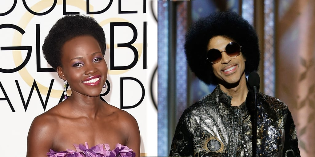 Lupita or Prince: Whose Golden Globes Afro Reigned Supreme?