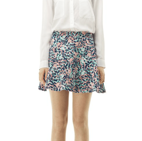 Club Monaco's Cecilia skirt ($130) would look amazing with a striped top for a fun play on mixed prints.