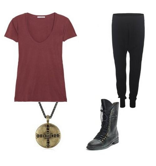 Cotton Leggings and Cotton Tee