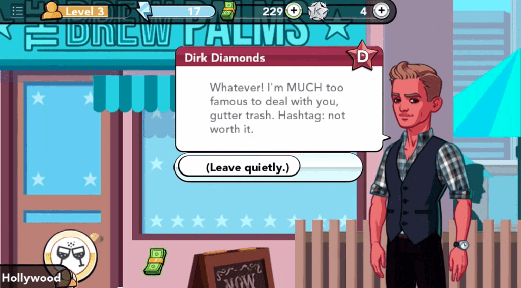"Some Guy Named Dirk Diamonds Says ""Gutter Trash"" Like It's 2001"