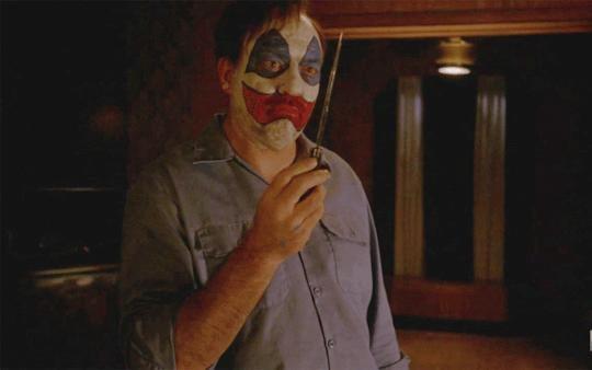 Lynch as John Wayne Gacy in Hotel