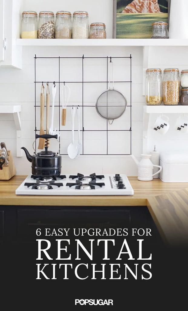 Rental kitchen upgrades popsugar home for Home upgrades