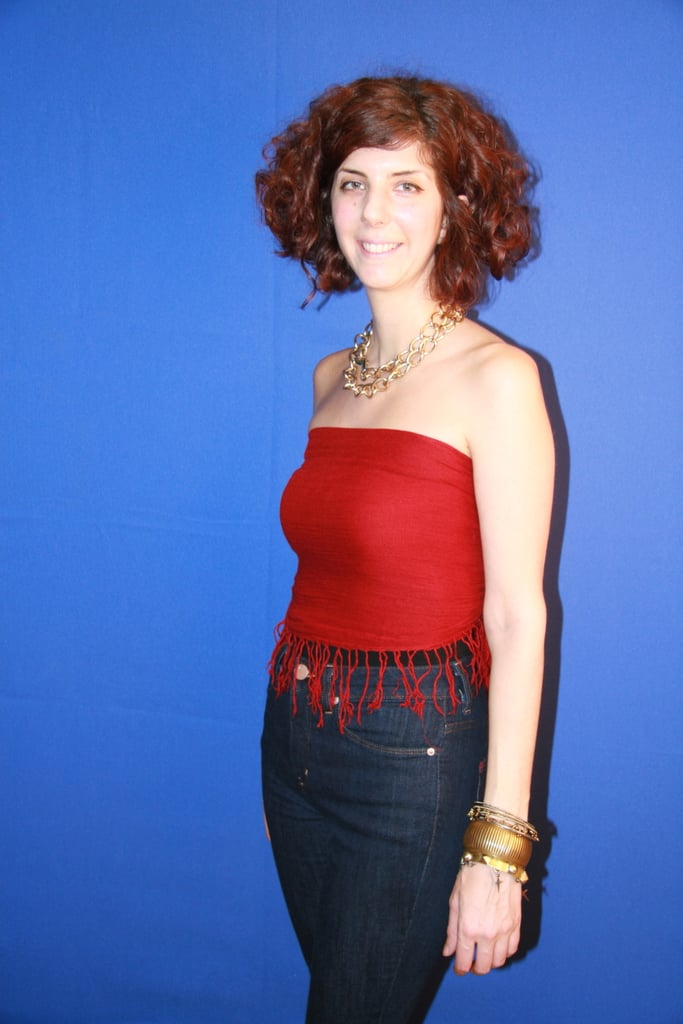 Scarf Tube Top