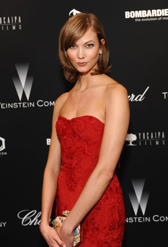 Karlie Koss at The Weinstein Company's Academy Awards Party