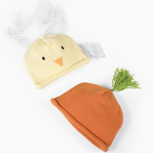 A Chick and a Carrot