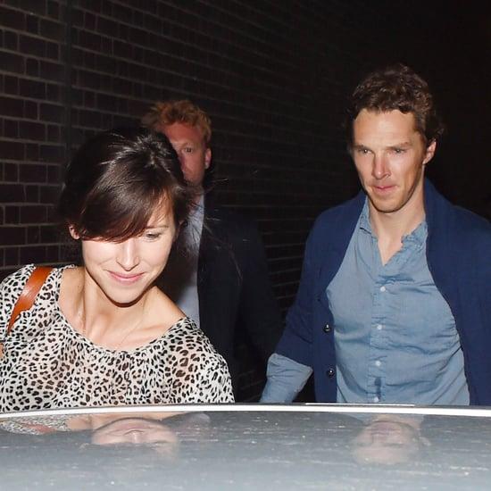 Benedict Cumberbatch Sophie Hunter Date Pictures August 2015