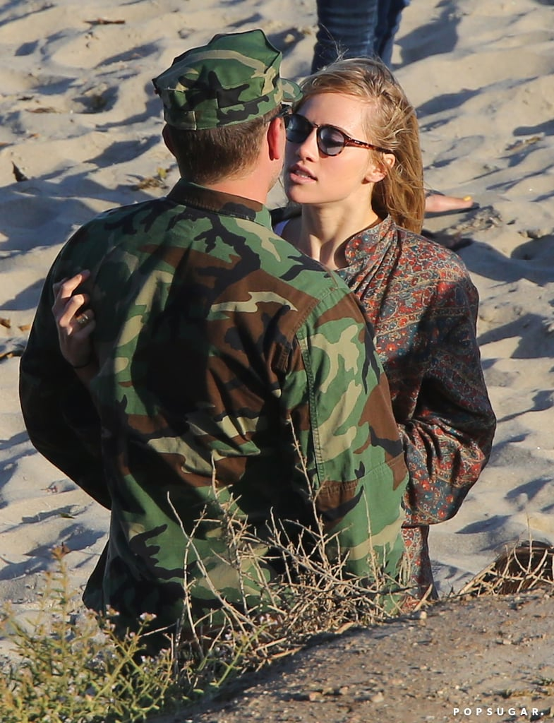 Bradley Cooper Gets a Sweet PDA Surprise From His Girlfriend