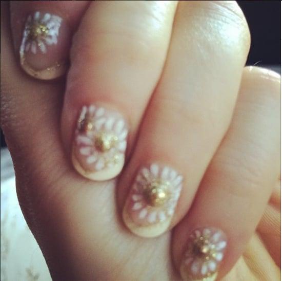 Zooey Deschanel Nails | New Girl