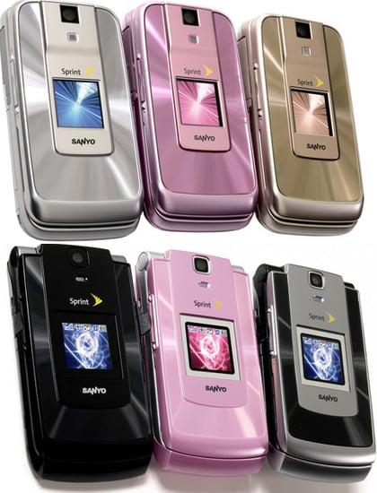 The New Katana Mobiles By Sprint and Sanyo