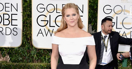 Ryan Seacrest Censors Amy Schumer On The Red Carpet
