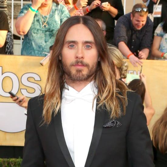 Jared Leto's Hair at SAG Awards 2014