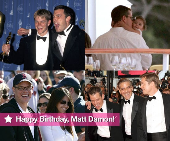 Happy Birthday, Matt Damon!