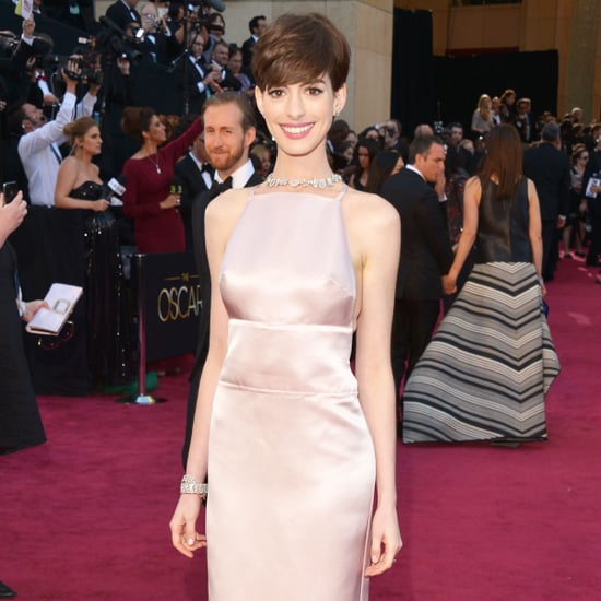 Anne Hathaway Oscar Dress 2013 | Pictures