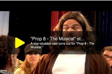 Prop 8 — The Musical: Starring Jack Black as Jesus