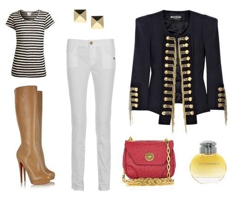 """""""Royal to a 'T'"""" look by missemily13776"""