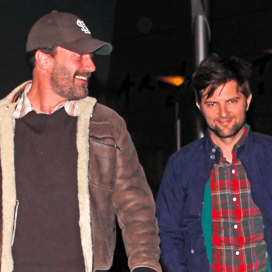 Jon Hamm and Adam Scott Go on a Double Date