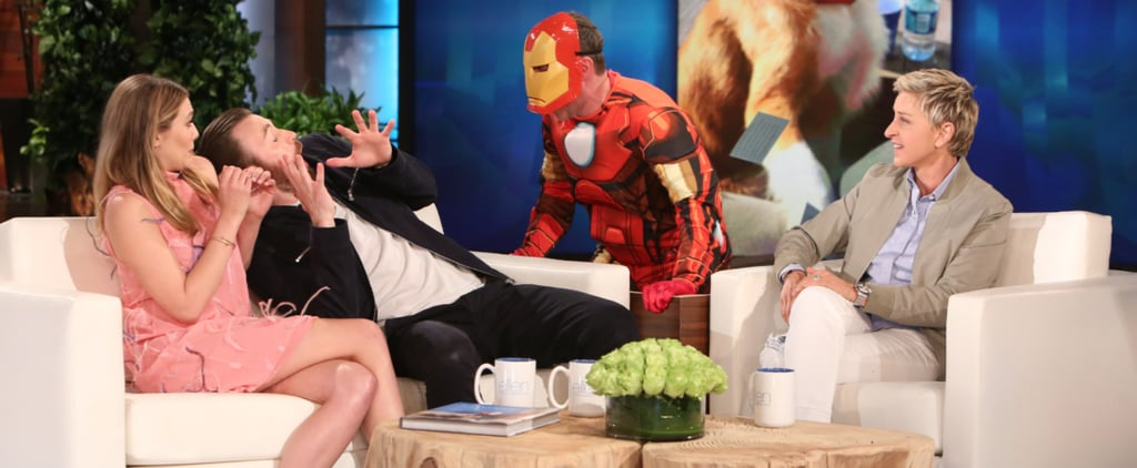 Chris Evans Gets a Taste of His Own Medicine by Getting Scared on The Ellen Show