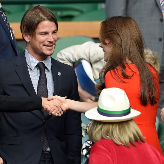 Josh Hartnett Mingles With the Duke and Duchess of Cambridge!