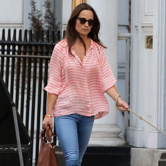 Pippa Middleton Fringe Shoes July 2016