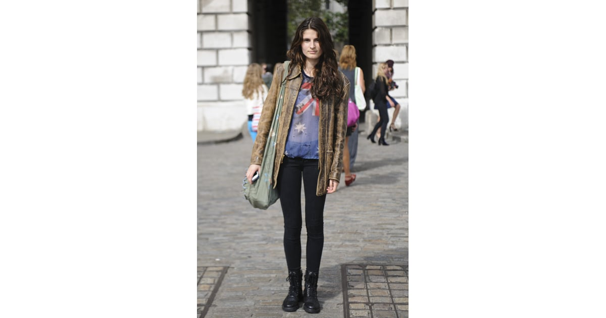 Street Style London Fashion Week Spring 2013 Popsugar Fashion Photo 138