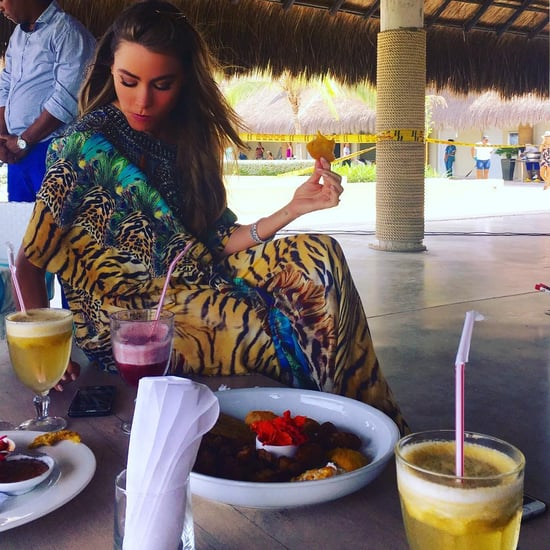 Sofia Vergara Is Eating Her Way Through Cartagena, and We're So Jealous