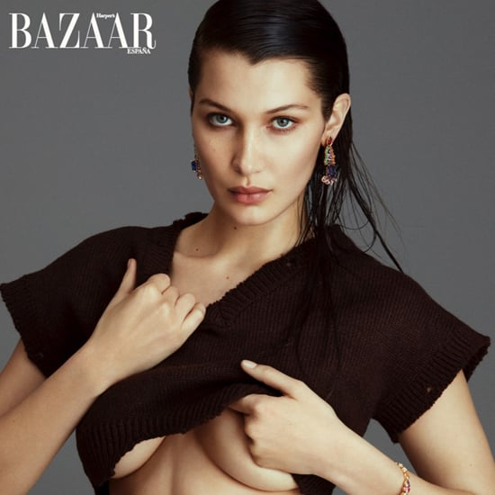 Bella Hadid Harper's Bazaar Spain Cover 2016